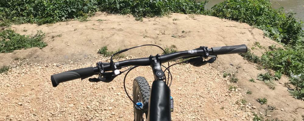 Tra Somaglia e Casale un percorso per le biciclette che va a terminare nel nulla