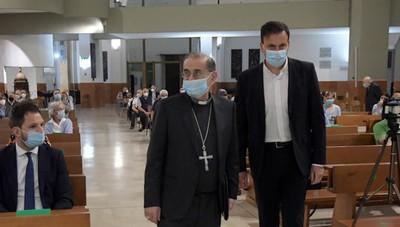 L'arcivescovo di Milano a San Giuliano