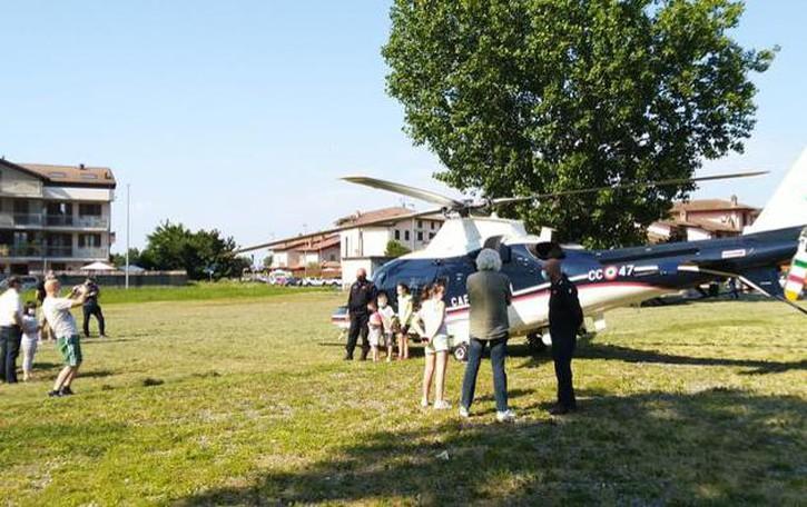 Contro lo spaccio nei campi arriva anche l'elicottero