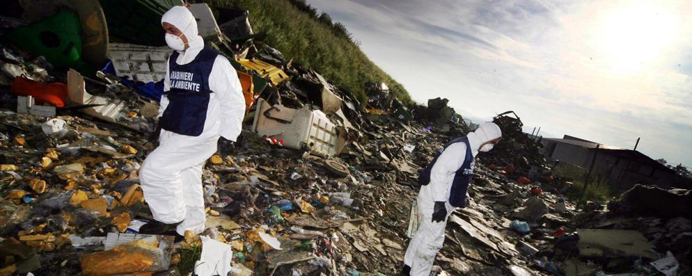 Traffico di rifiuti, un arresto a Mediglia