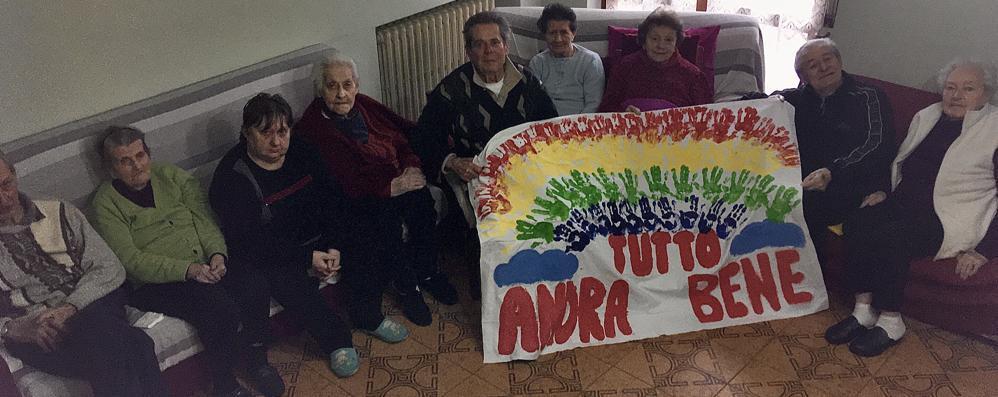 """Dalla """"Casa famiglia"""" per anziani di Castiglione arriva un messaggio di speranza"""