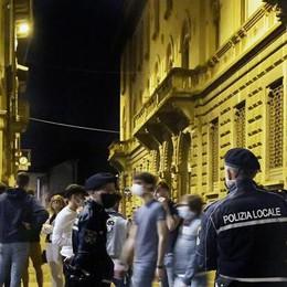 Lodi, nuove regole per la movida tra corso Umberto e via Volturno