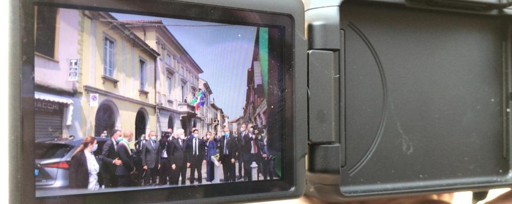 Mattarella a Codogno GALLERIA VIDEO E FOTO