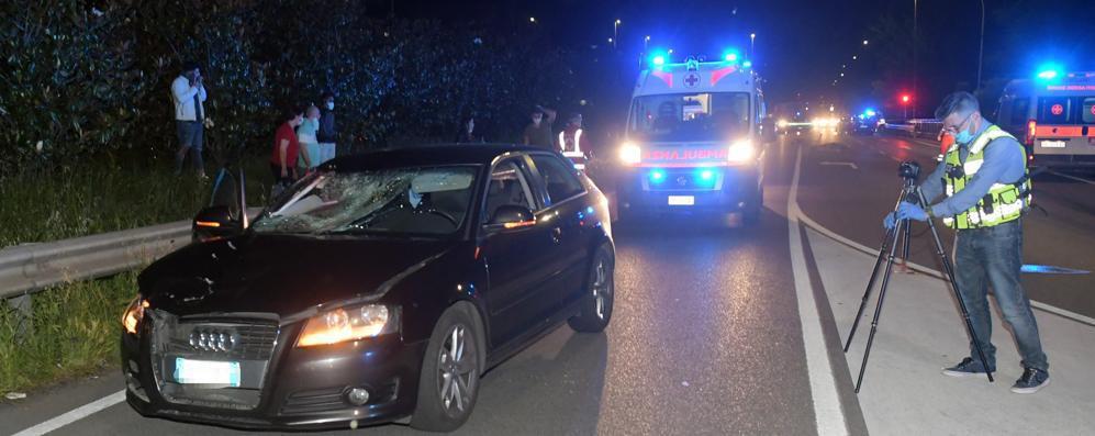 San Giuliano: travolto e ucciso sulla via Emilia VIDEO