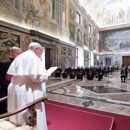 Il Papa: «Avete incominciato un miracolo» VIDEO