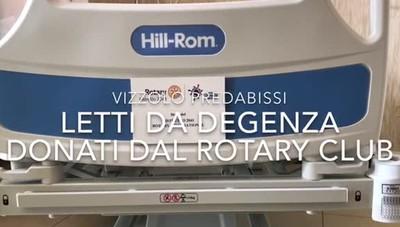 Letti donati dal Rotary al Predabissi