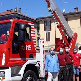 I vigili del fuoco di Melegnano compiono tre anni - VIDEO