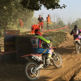 LODI Caduta in pista a Bottedo, ferito giovane motociclista