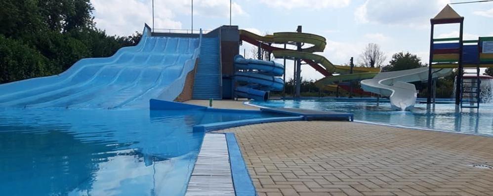 Sta funzionando il distanziamento al parco acquatico di Cornegliano
