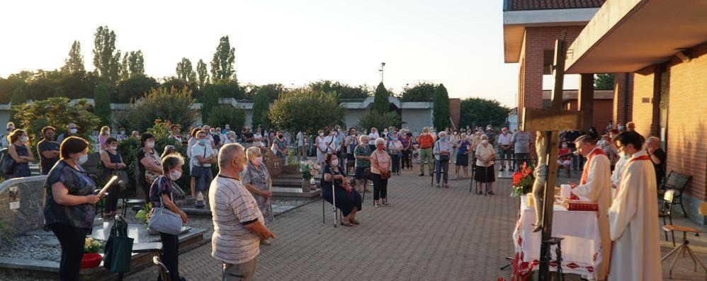 Lodi Vecchio in preghiera lunedì sera nel ricordo delle vittime del Covid-19