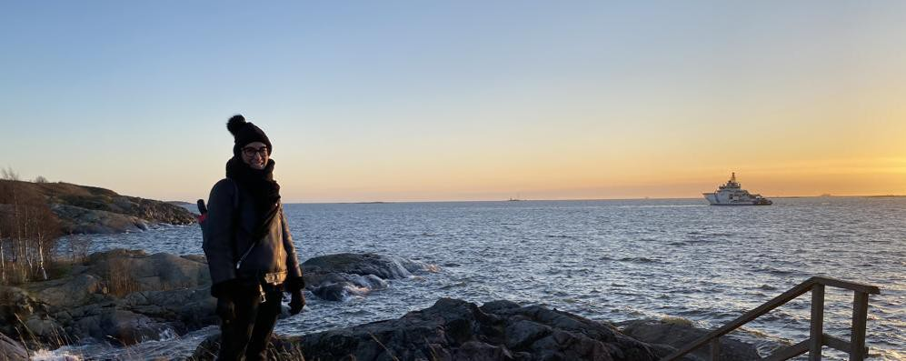 """Una giovane lodigiana nella """"felice"""" Finlandia. VIDEO"""
