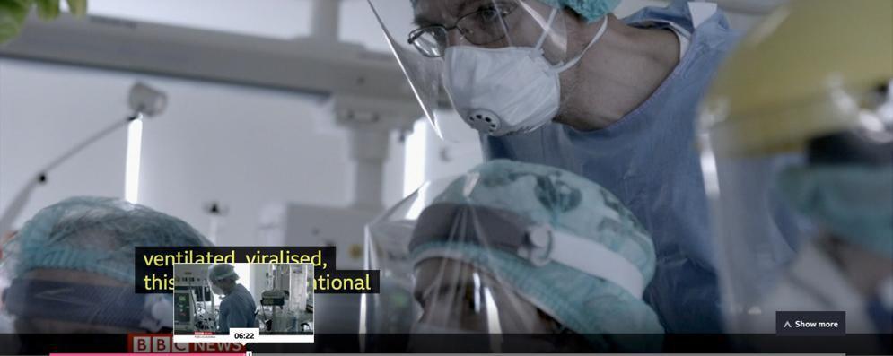Il Pronto soccorso di Lodi alla Bbc in un film-verità sul coronavirus