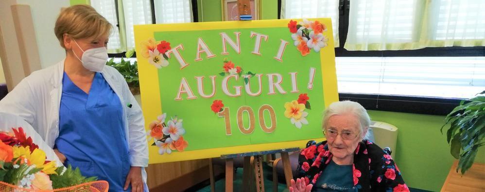 Elena Zenato ha 100 anni: si fa festa alla Castellini