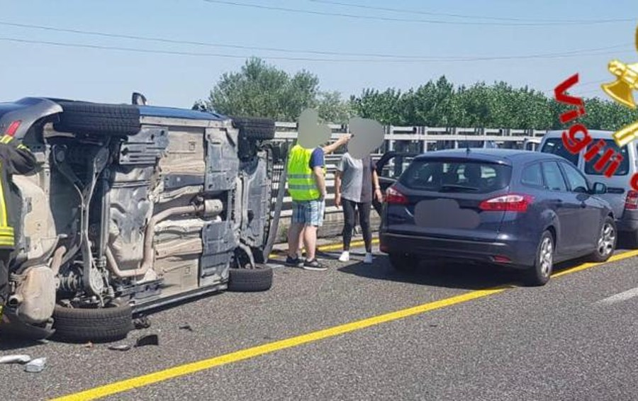 Grave incidente, chiusa l'Autostrada del Sole