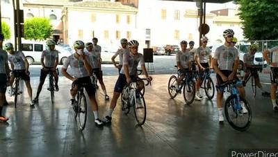 In bici da  Codogno a Vo' Euganeo