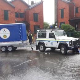 Bombe d'acqua su tutta la Lombardia, il bilancio della Protezione civile