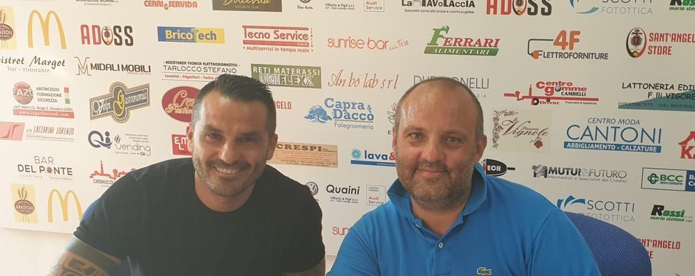 Calcio, Bertani dalle vittorie in Serie B a Sant'Angelo: «Piazza importante»