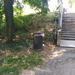 Castiglione, il polmone verde  fra bivacchi e vandalismi