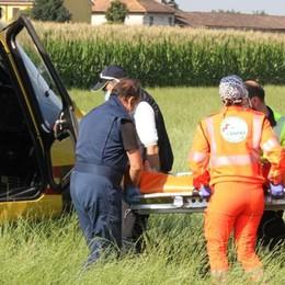 Castiglione: travolto 91enne in bicicletta, è grave