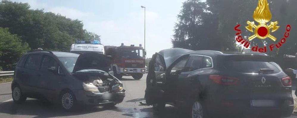 Frontale a Sant'Angelo, due feriti