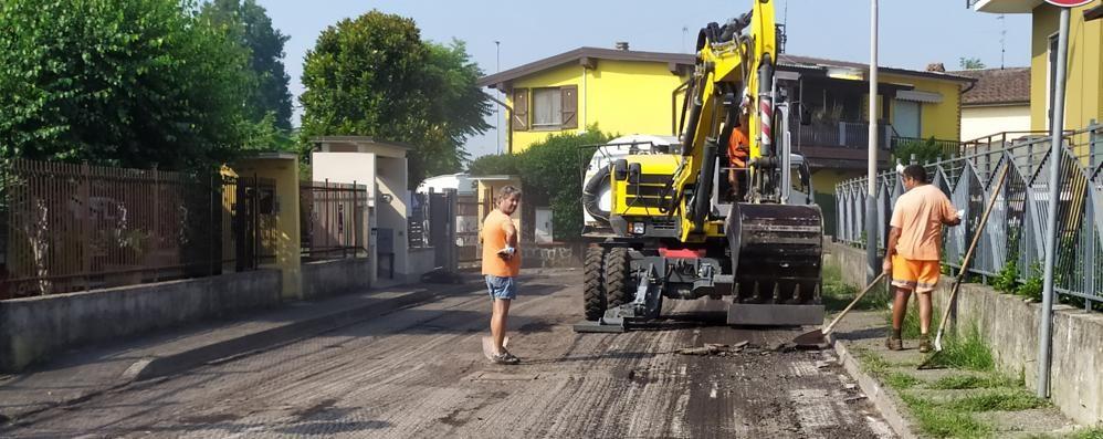 Giochi, asfalti, archivio: lavori in vista a Castiglione