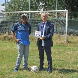 Juary insegna calcio nel Lodigiano