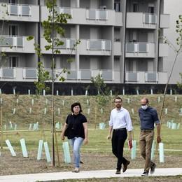 Lodi, completato il parco urbano nell'area della Spina Verde