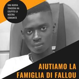 MEDIGLIA Raccolta fondi per il 16enne annegato . «Fallou sarà seppellito in Senegal»