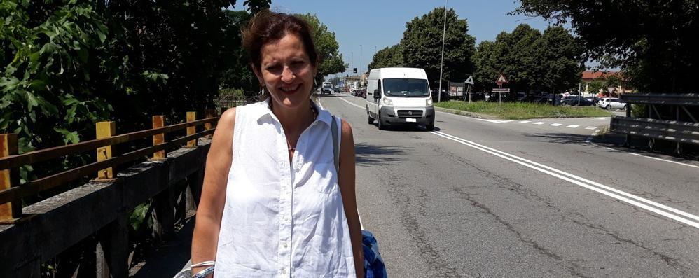 """MELEGNANO Un """"regalo"""" con i fondi Covid: «Pista ciclabile sulla via Emilia»"""