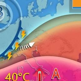 Oggi, domani e sabato i giorni più caldi dell'anno