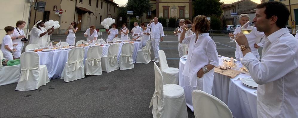 Sant'Angelo, una cena bianca per ripartire