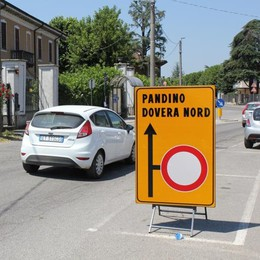 Traffico bloccato sulla Bergamina a Dovera per i lavori all'acquedotto