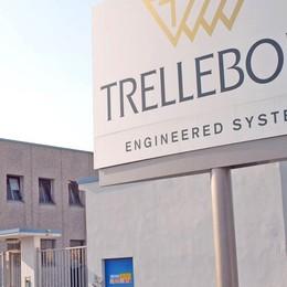 Trelleborg punta dritta verso Dresano: nuovo capannone operativo da gennaio