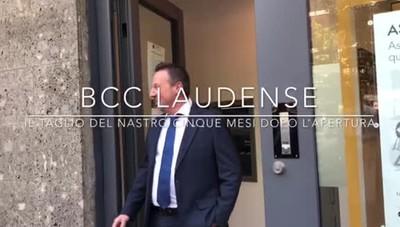 Inaugurata la Bcc Laudense a San Giuliano