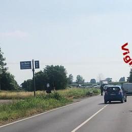 """Incidente sulla """"235"""" tra Pieve e Borgo, sei feriti ed elisoccorso"""