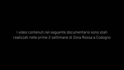 Red Zone, il documentario di Marco Belloni