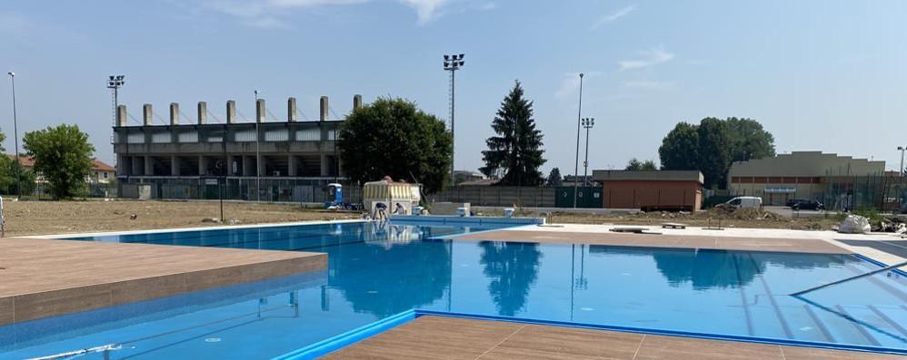 Sant'Angelo, corsa contro il tempo   per la piscina