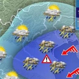 Sul Lodigiano 35 gradi e poi un week end di temporali