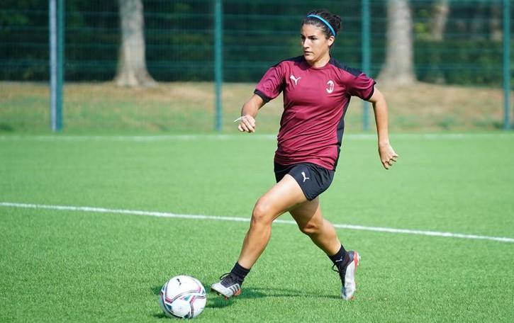 Calcio femminile, il dolce ritorno di Federica Rizza