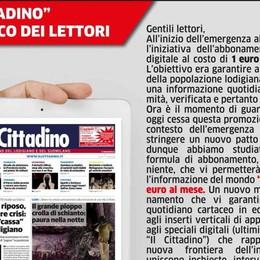 """""""Il Cittadino"""" al fianco dei lettori"""