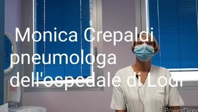 Le parole di Monica Crepaldi, pneumologa dell'ospedale di Lodi
