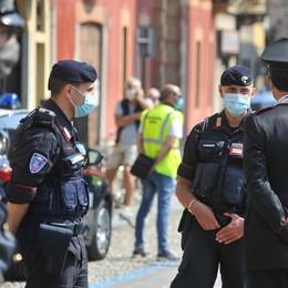 MELEGNANO Maxi sanzione per 11 giovani che non avevano la mascherina