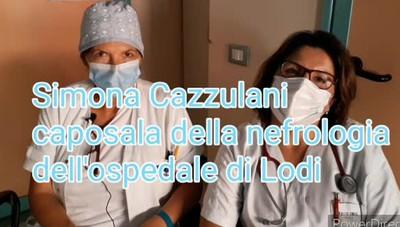 Simona Cazzulani, caposala della nefrologia dell'ospedale di Lodi