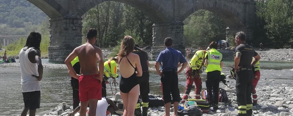 Ventiduenne di Fombio salva un giovane che stava per annegare nel Trebbia