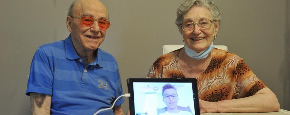 LODI «Grazie all'ospedale che ha curato il nonno» VIDEO