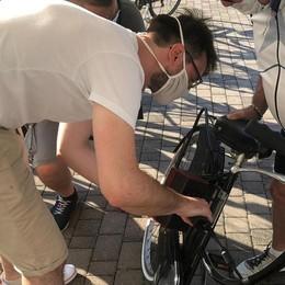 Biciclette, operazione antifurto a San Donato con il codice fiscale sul telaio