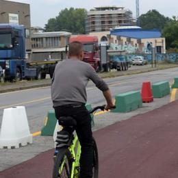 In bici da via Trieste fino a Zivido: il cantiere va avanti