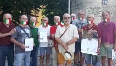Melegnano, il Papa risponde ai bersaglieri