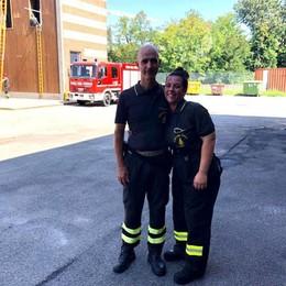 Sara Maietti ora è un pompiere, un sogno che si realizza