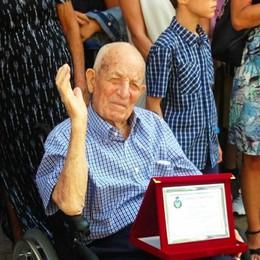 VALERA Muore nonno Giglio, aveva quasi 103 anni: non l'aveva spaventato nemmeno il Covid